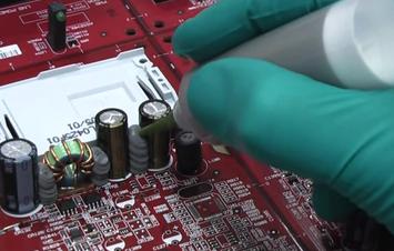 PCB dispensing