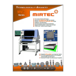 Mirtec MV-3 AOI Product Brochure