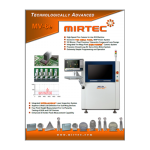 Mirtec MV-6e AOI Product Brochure