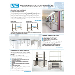 IAC Lab Benches Catalog