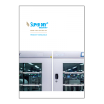 Super Dry Totech dry storage cabinets brochure